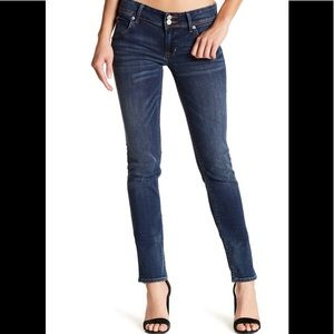 Hudson Collin Flap Skinny Jeans 25